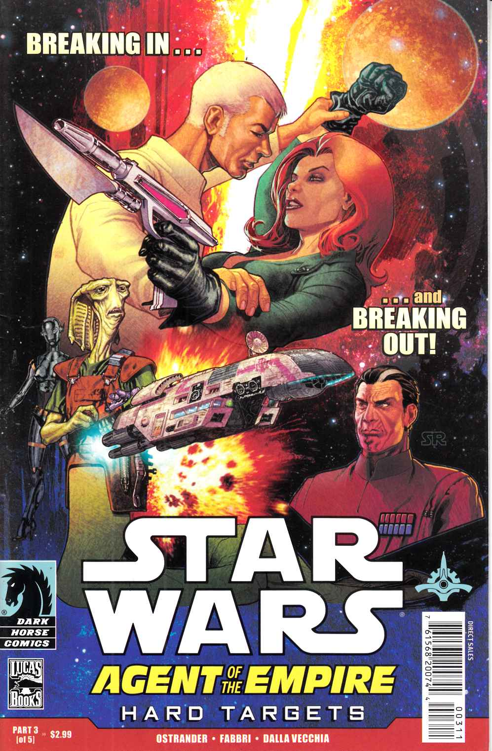 Star Wars Agent of the Empire Hard Targets #2 Near Mint (9.4) [Dark Horse Comic] THUMBNAIL