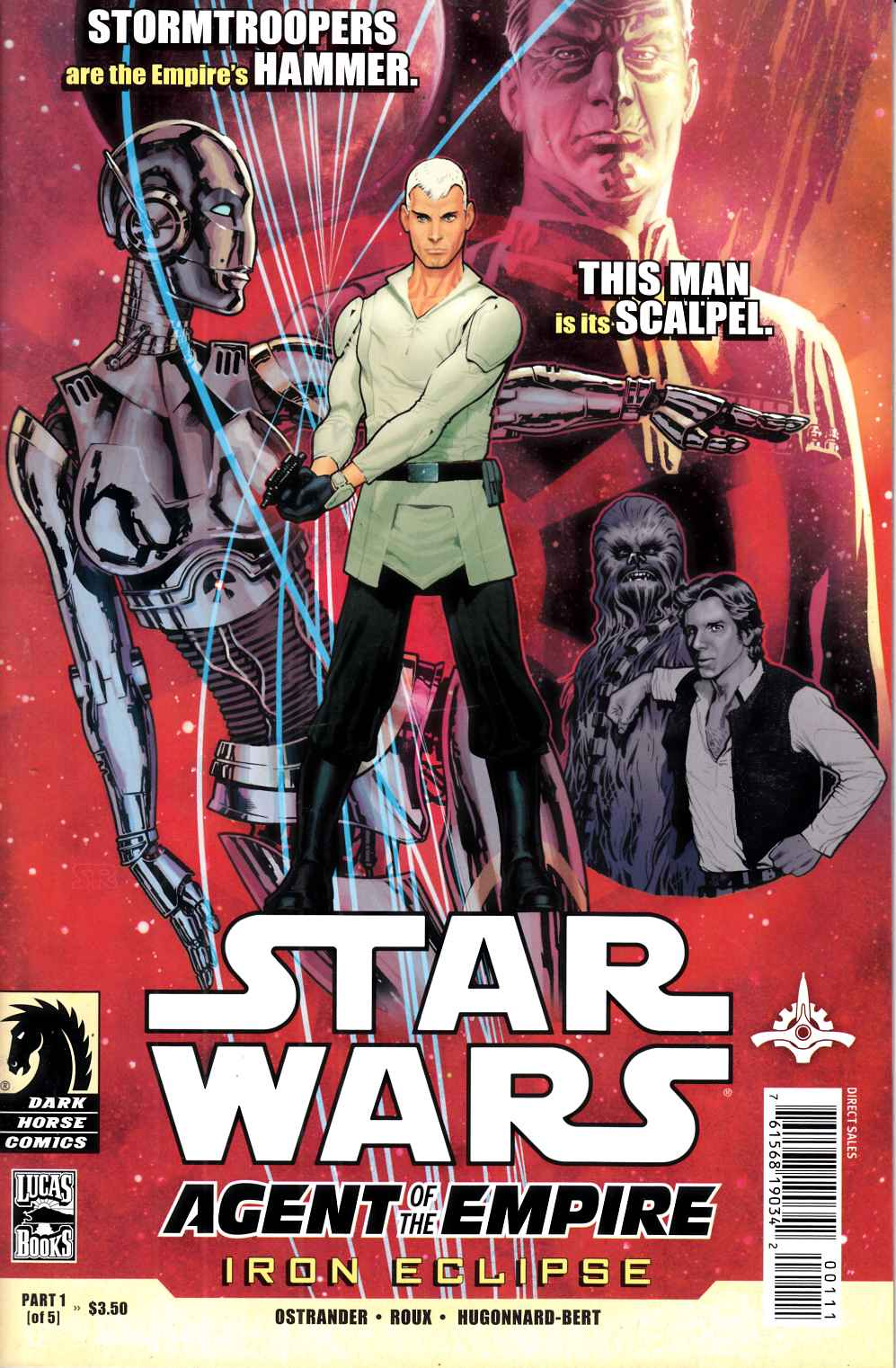 Star Wars Agent of the Empire Iron Eclipse #1 Near Mint (9.4) [Dark Horse Comic] THUMBNAIL