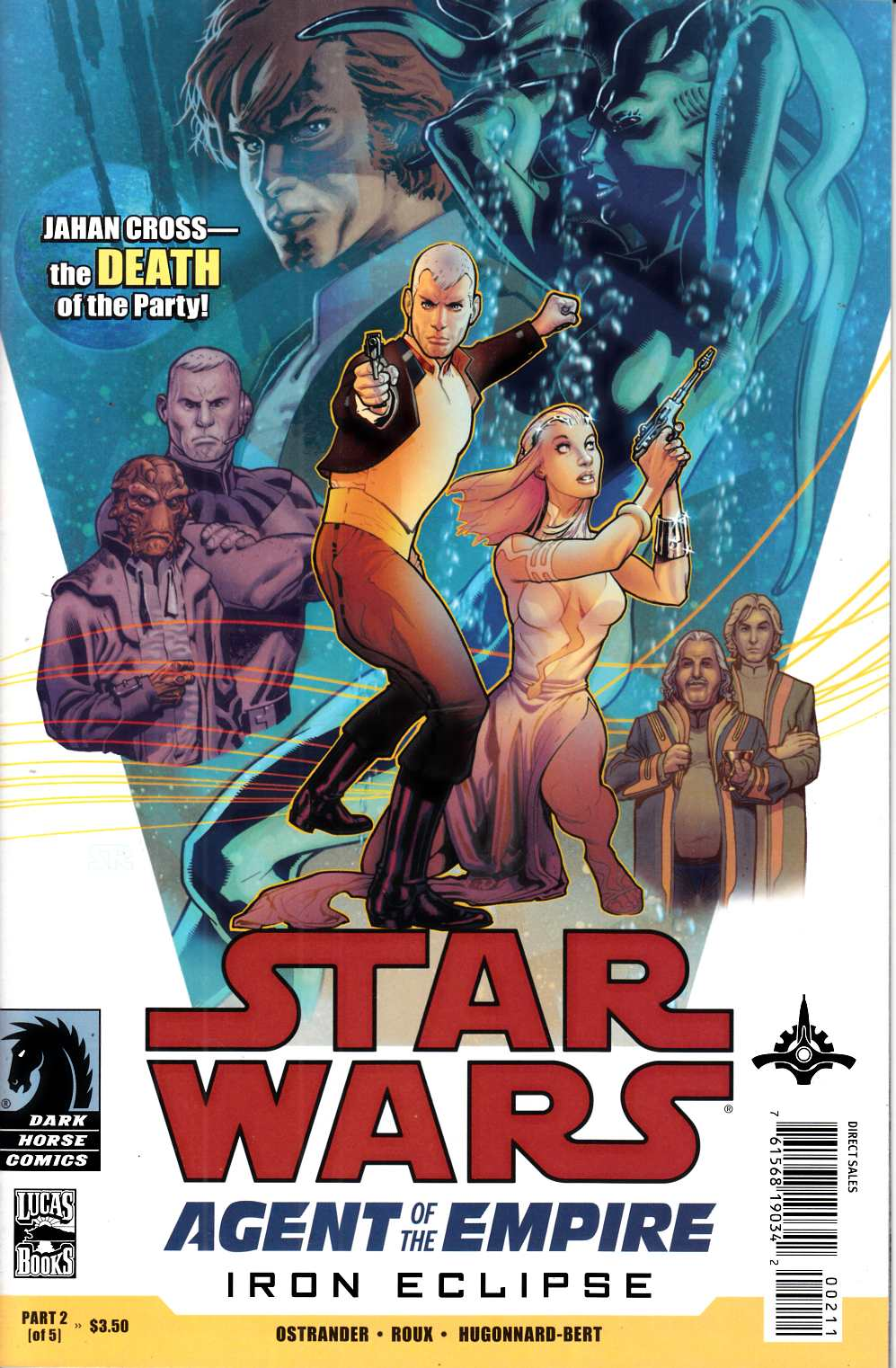 Star Wars Agent of the Empire Iron Eclipse #2 Very Fine Minus (7.5) [Dark Horse Comic] THUMBNAIL