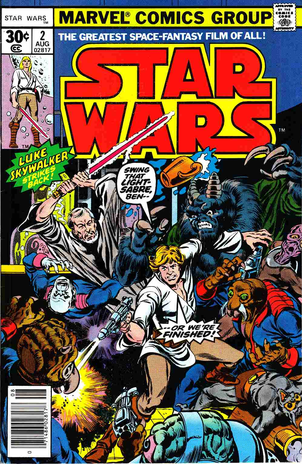 Star Wars #2 Very Fine Minus (7.5) [Marvel Comic] THUMBNAIL