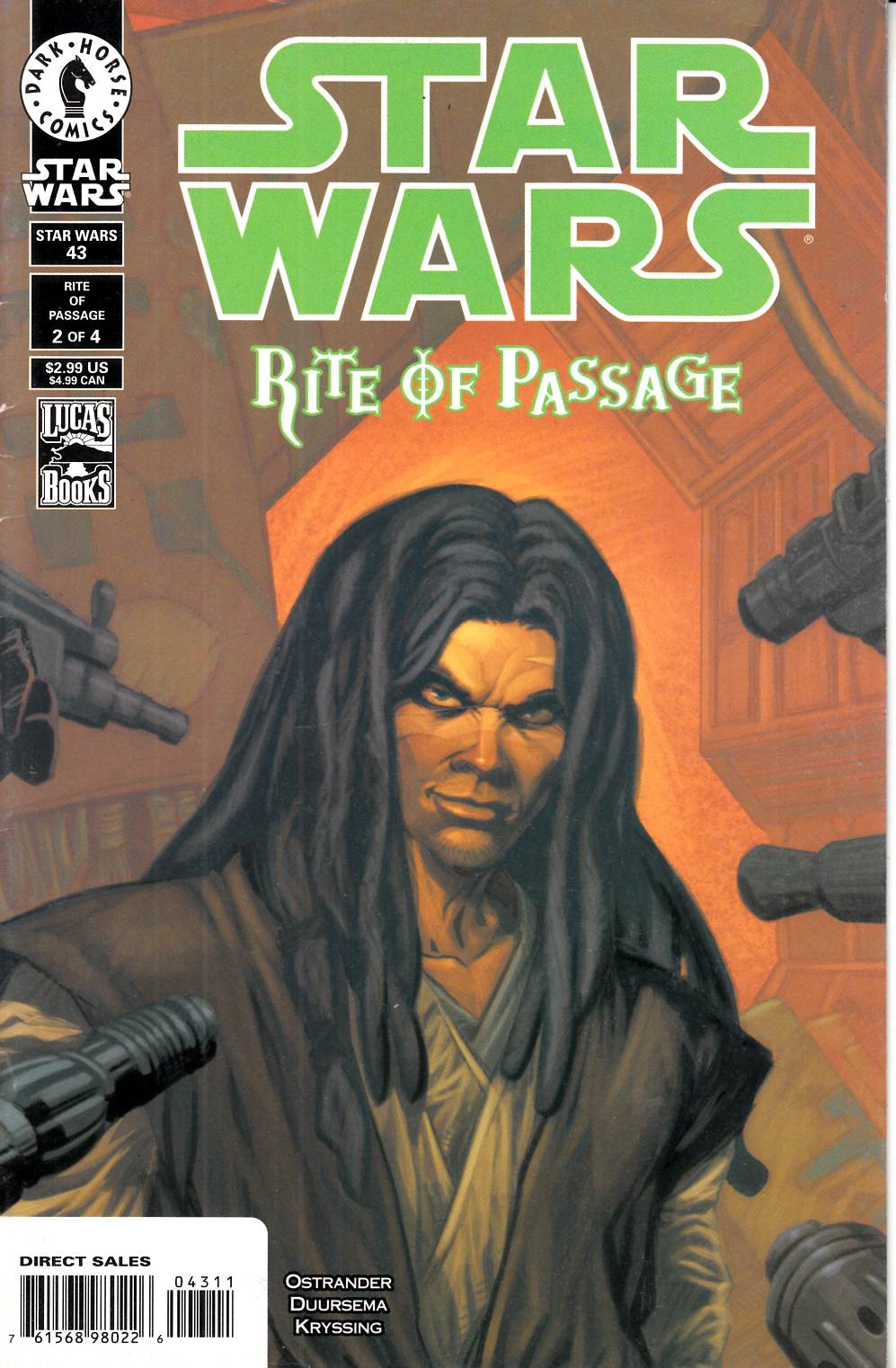 Star Wars #43 Fine (6.0) [Dark Horse Comic] THUMBNAIL