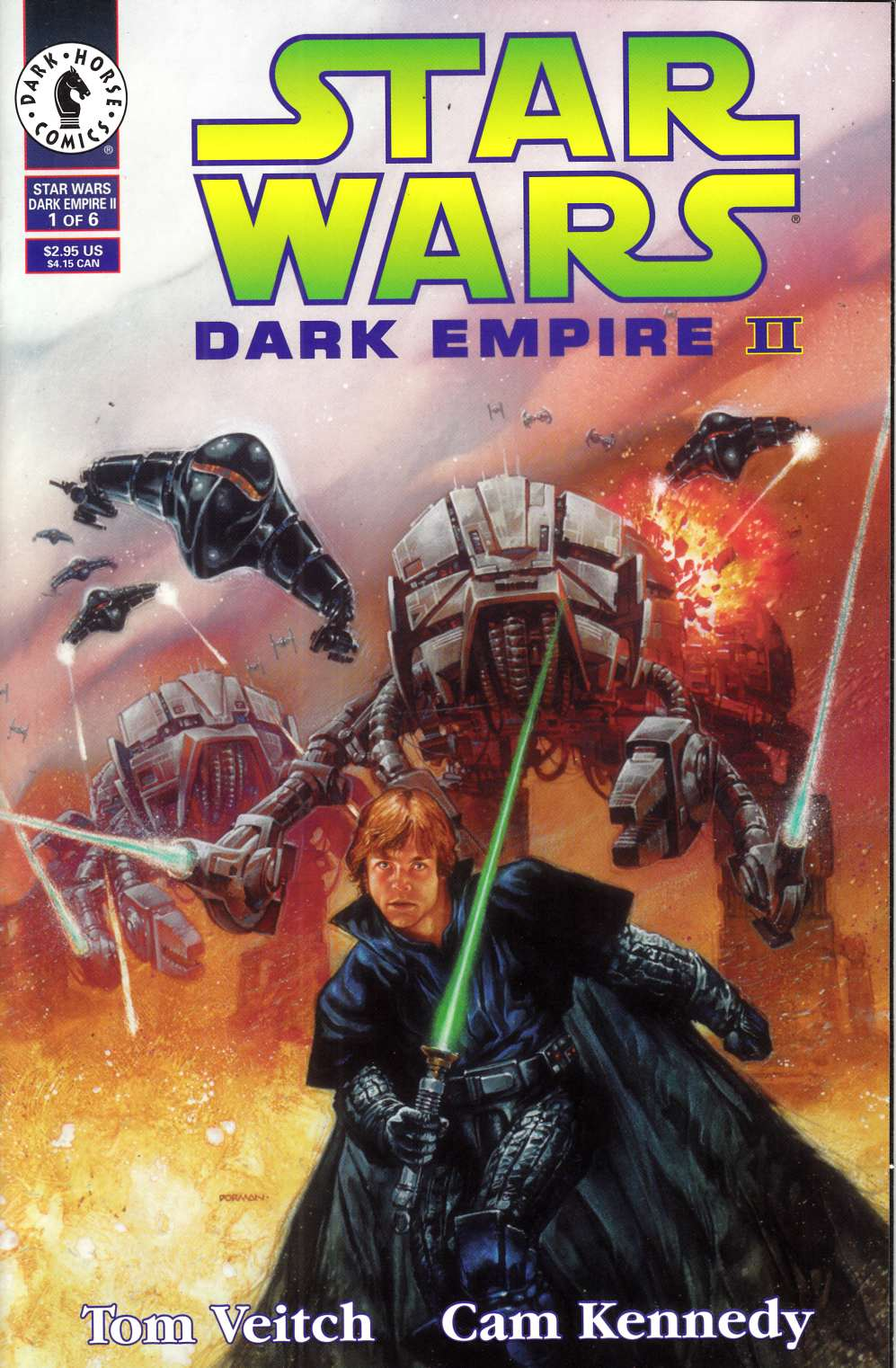 Star Wars Dark Empire II #1 Very Fine Minus (7.5) [Dark Horse Comic] THUMBNAIL