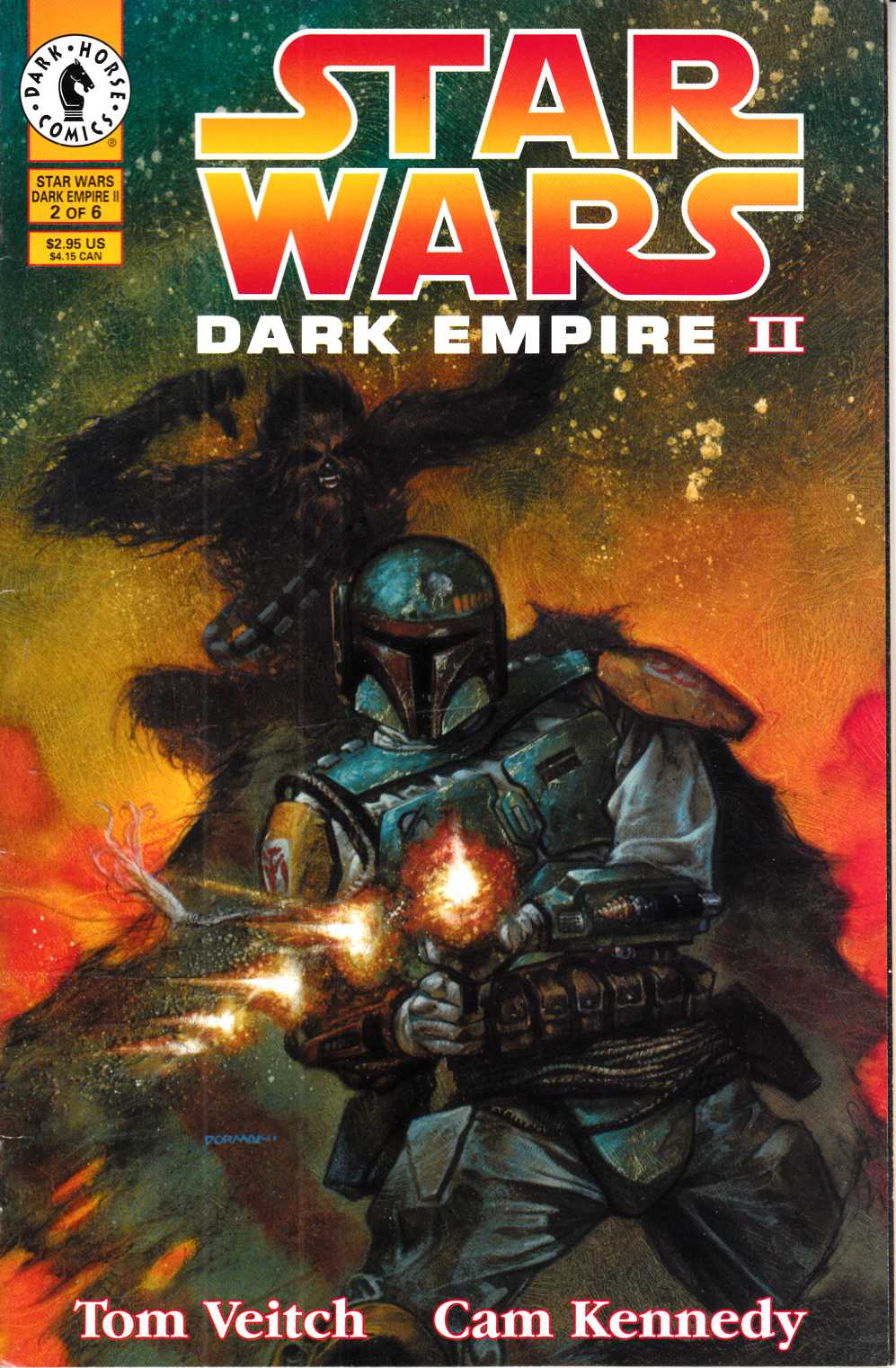 Star Wars Dark Empire II #2 Fine (6.0) [Dark Horse Comic] THUMBNAIL
