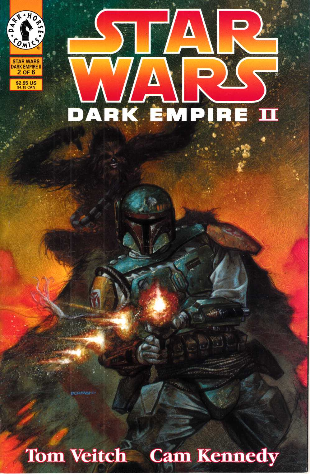 Star Wars Dark Empire II #2 Very Fine Minus (7.5) [Dark Horse Comic] THUMBNAIL