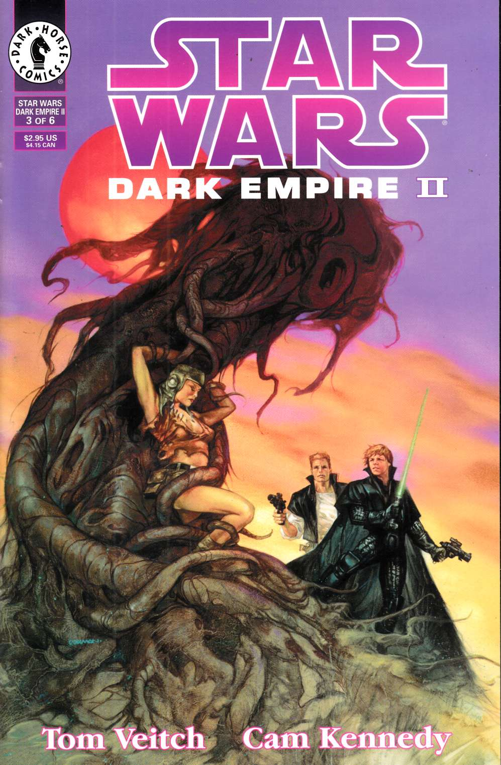 Star Wars Dark Empire II #3 Very Fine (8.0) [Dark Horse Comic] THUMBNAIL