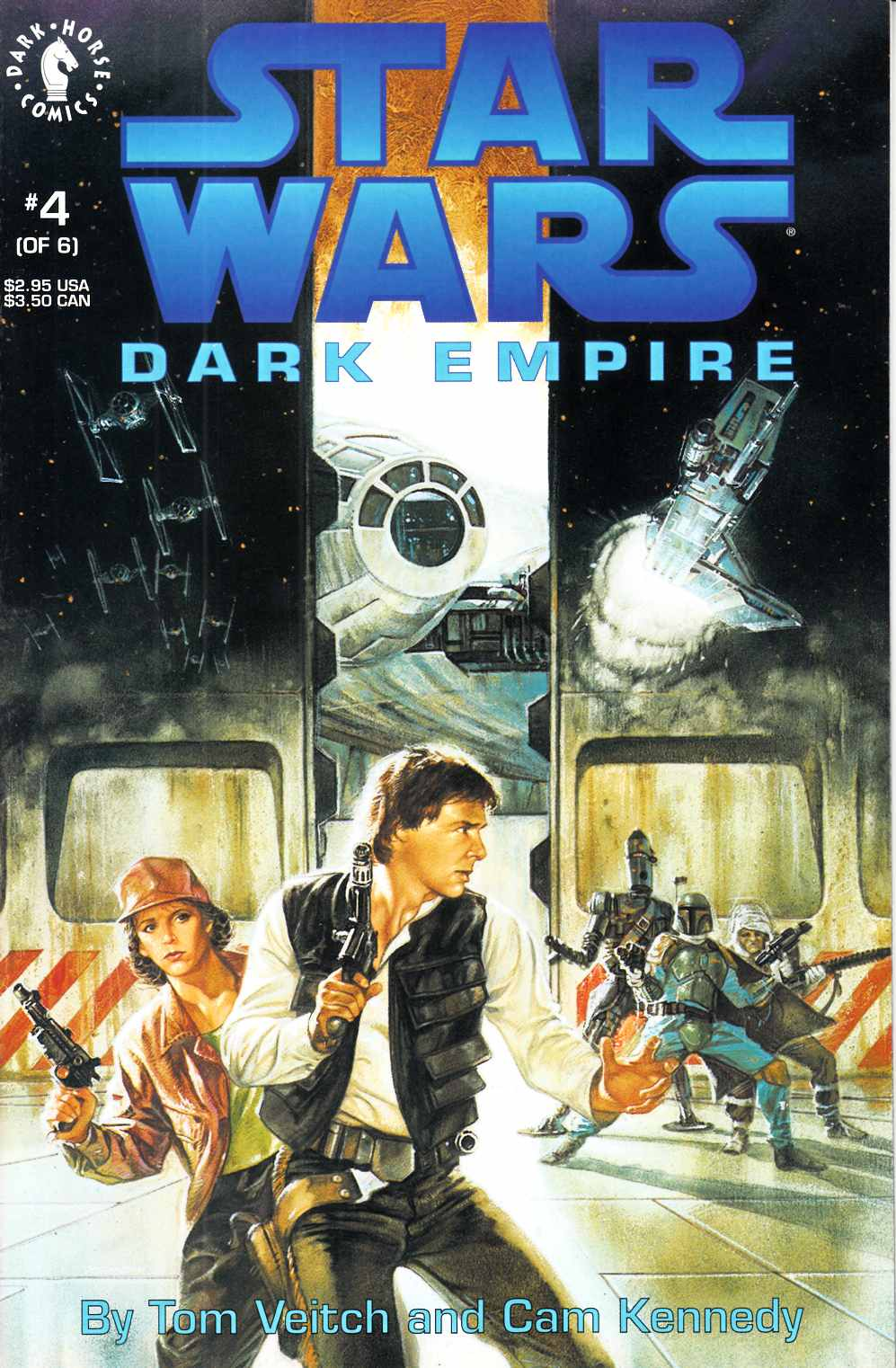 Star Wars Dark Empire #4 Very Fine (8.0) [Dark Horse Comic] THUMBNAIL