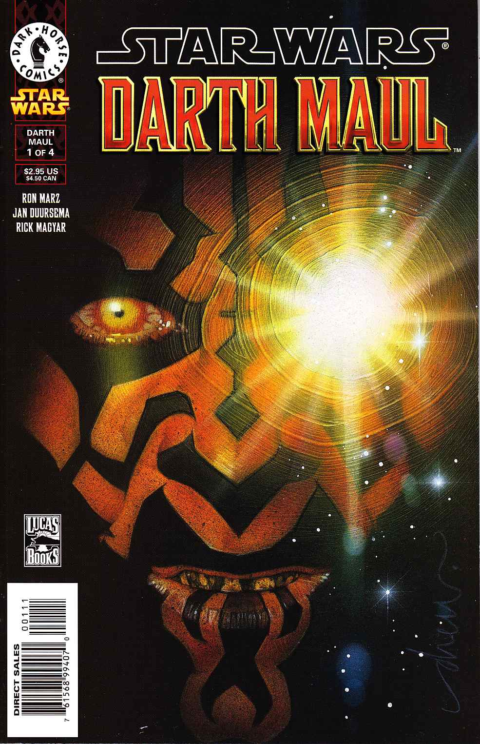 Star Wars Darth Maul #1 [Dark Horse Comic]