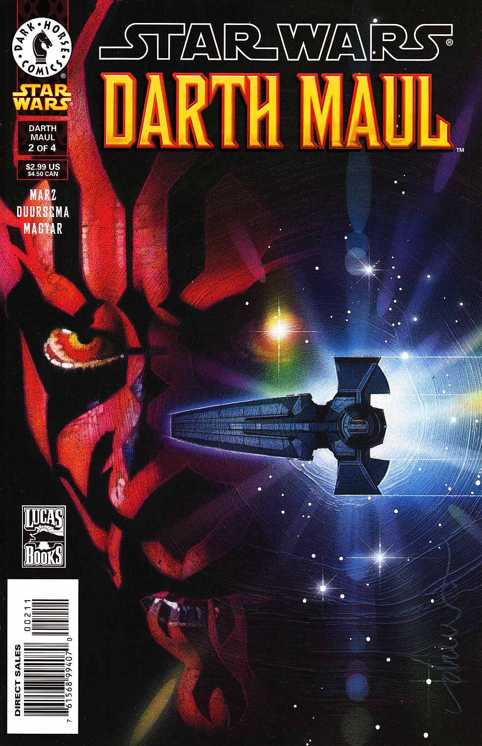 Star Wars Darth Maul #2 [Dark Horse Comic]