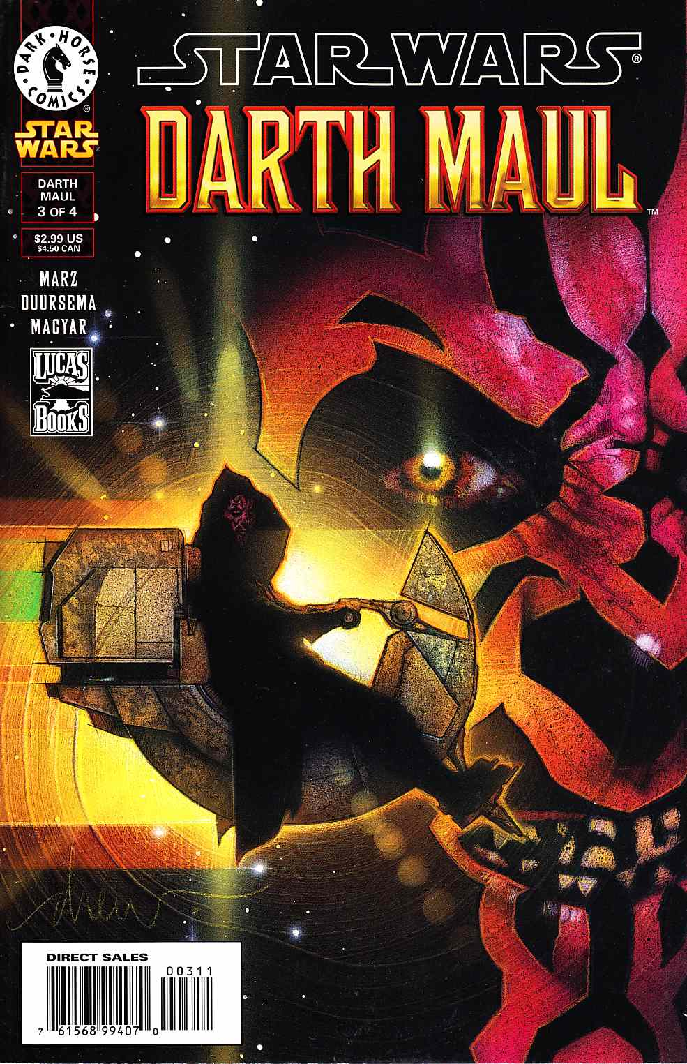 Star Wars Darth Maul #3 [Dark Horse Comic]