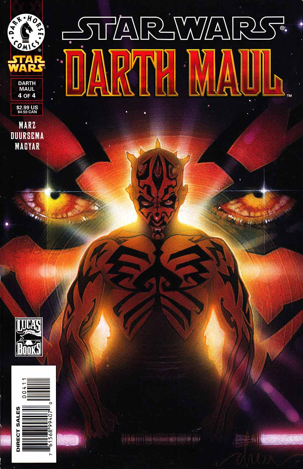 Star Wars Darth Maul #4 [Dark Horse Comic]