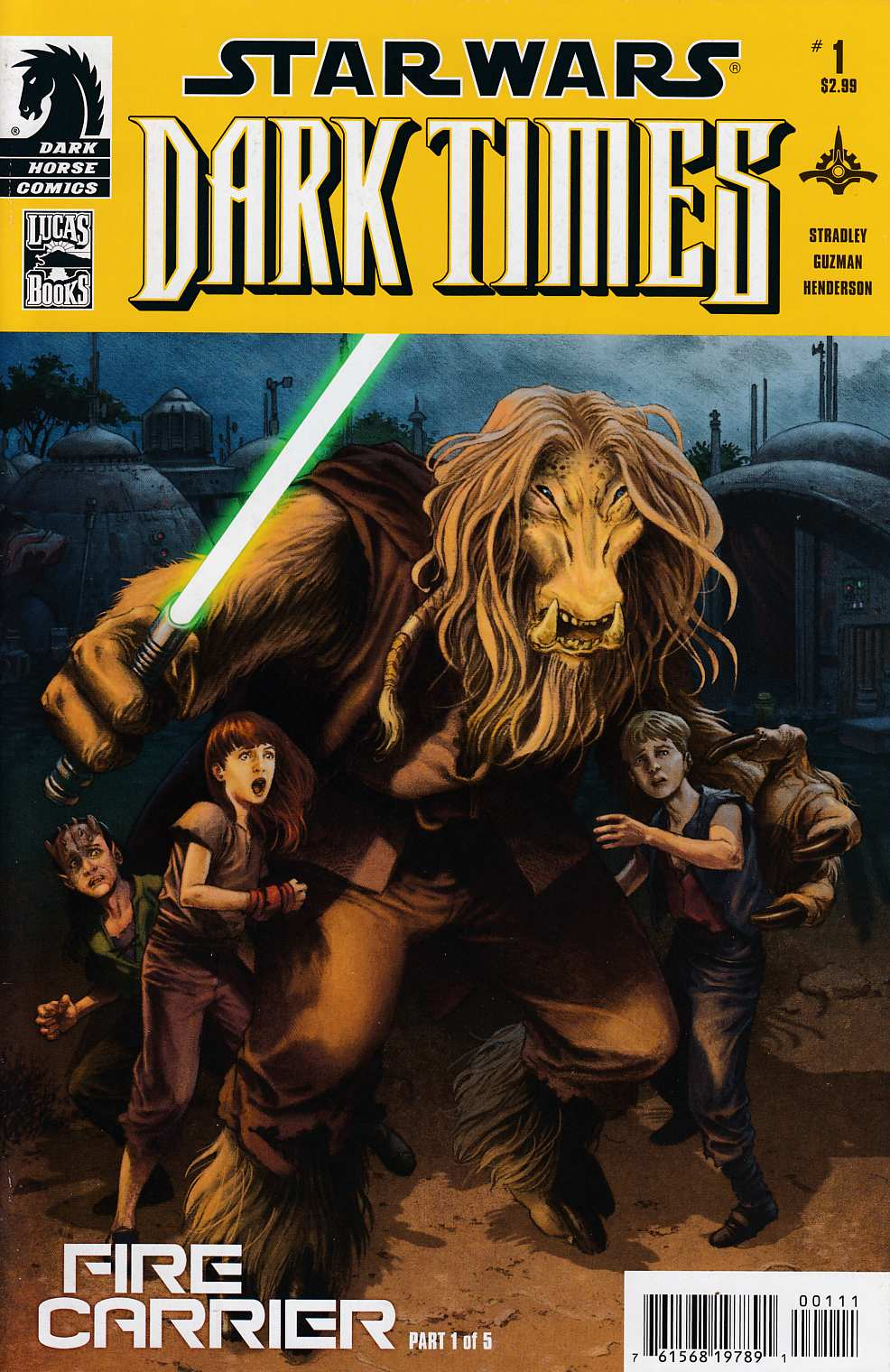 Star Wars Dark Times Fire Carrier #1 Very Fine (8.0) [Dark Horse Comic] THUMBNAIL