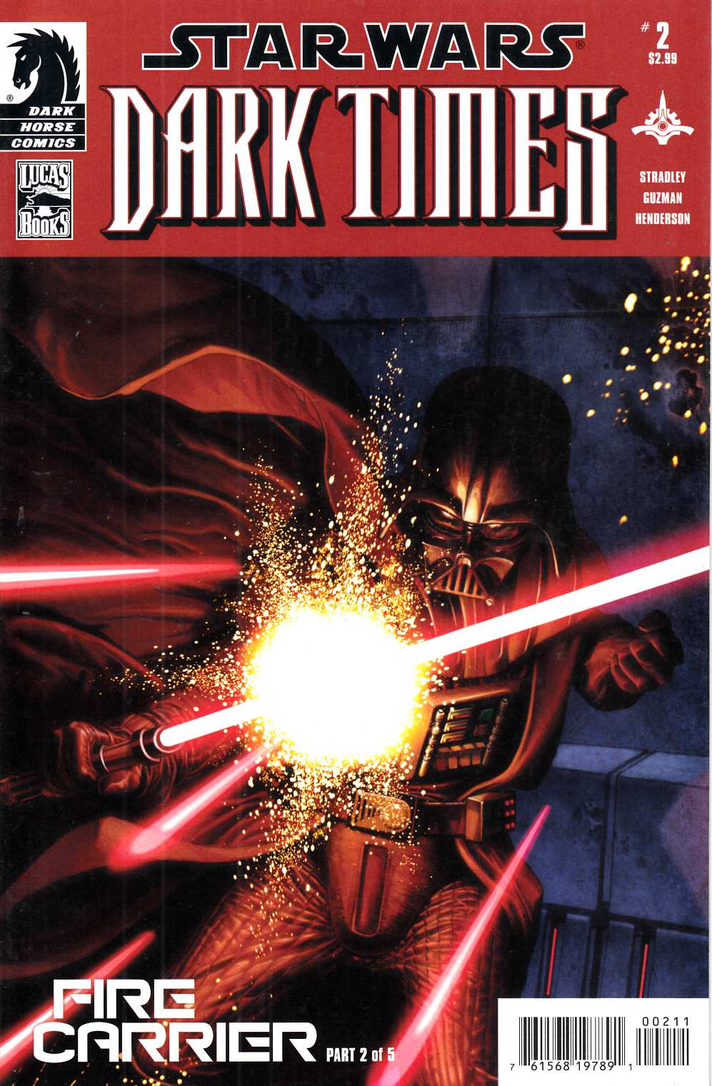 Star Wars Dark Times Fire Carrier #2 Near Mint (9.4) [Dark Horse Comic] THUMBNAIL