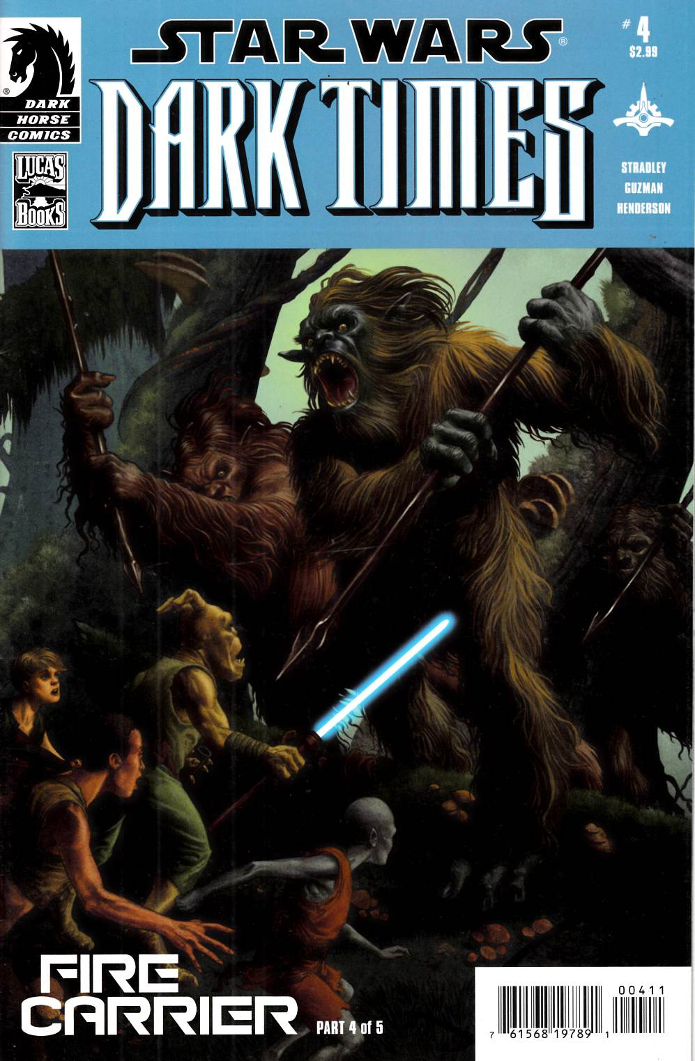 Star Wars Dark Times Fire Carrier #4 Very Fine (8.0) [Dark Horse Comic] THUMBNAIL