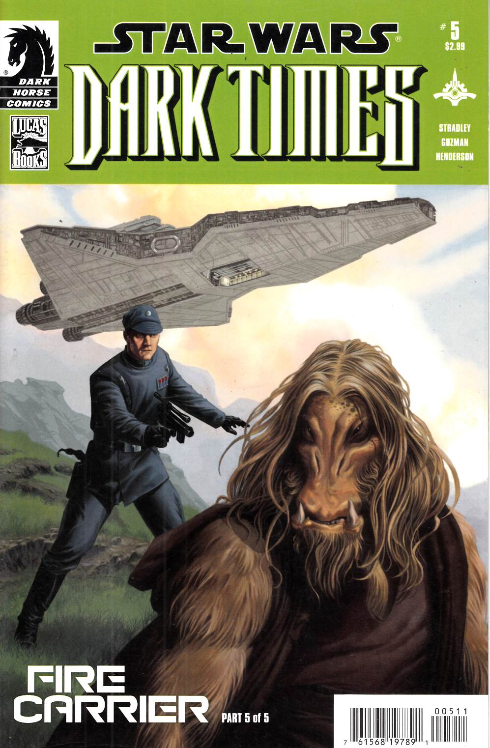 Star Wars Dark Times Fire Carrier #5 Very Fine (8.0) [Dark Horse Comic] THUMBNAIL
