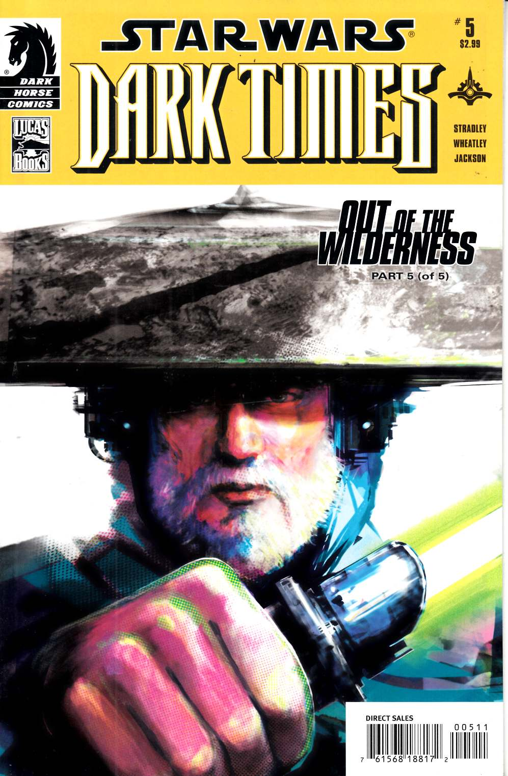 Star Wars Dark Times Out of the Wilderness #5 Near Mint (9.4) [Dark Horse Comic] THUMBNAIL