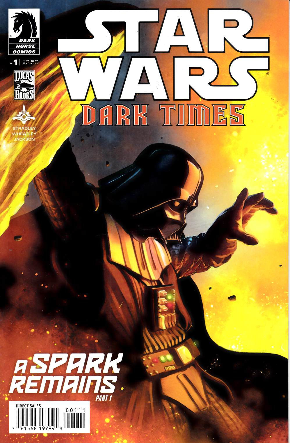 Star Wars Dark Times A Spark Remains #1 Very Fine (8.0) [Dark Horse Comic] THUMBNAIL