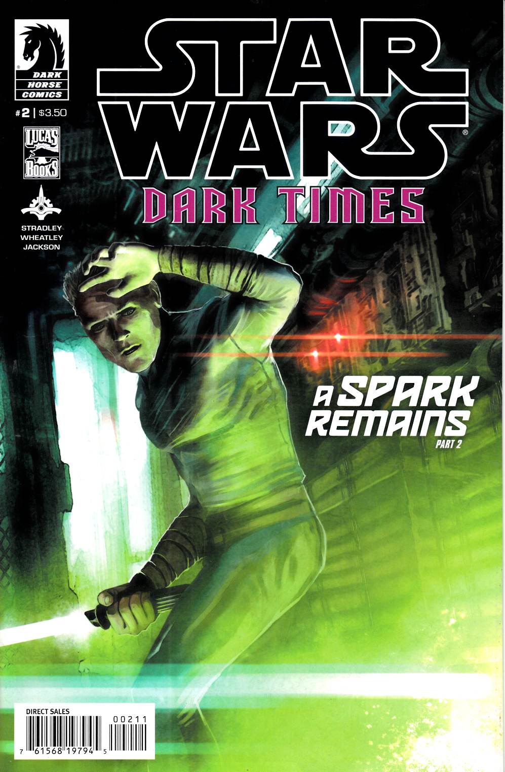 Star Wars Dark Times A Spark Remains #2 Near Mint (9.4) [Dark Horse Comic] THUMBNAIL