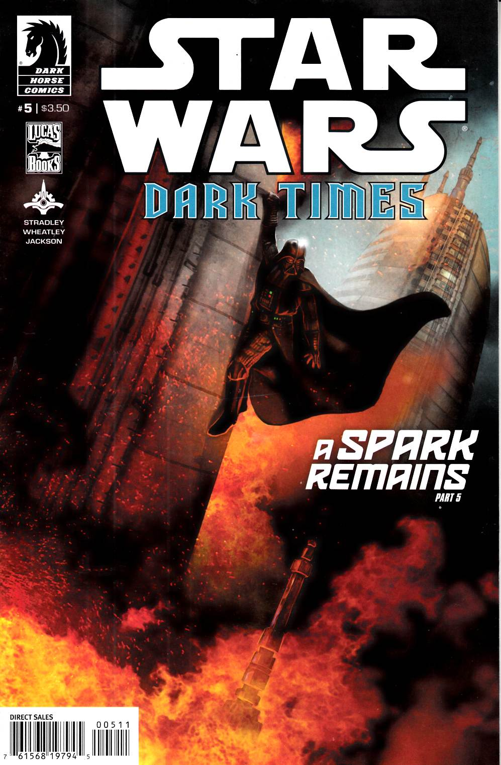 Star Wars Dark Times A Spark Remains #5 Near Mint Minus (9.2) [Dark Horse Comic] THUMBNAIL