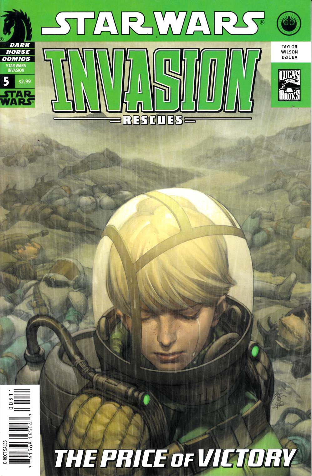 Star Wars Invasion Rescues #5 Very Fine (8.0) [Dark Horse Comic] THUMBNAIL