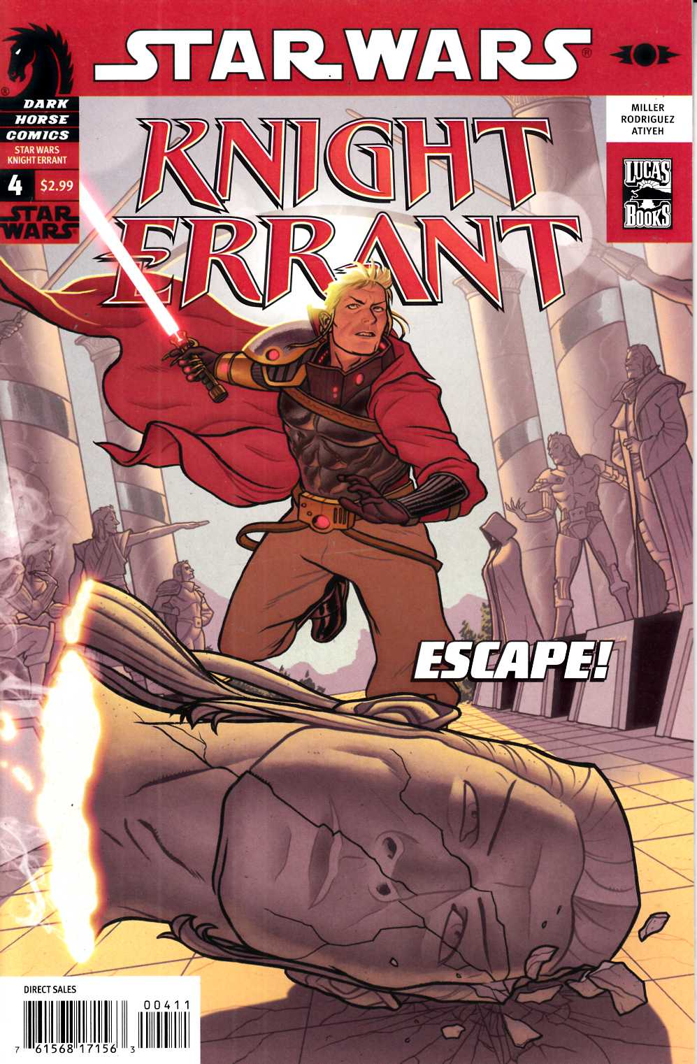 Star Wars Knight Errant #4 Aflame Very Fine (8.0) [Dark Horse Comic] THUMBNAIL
