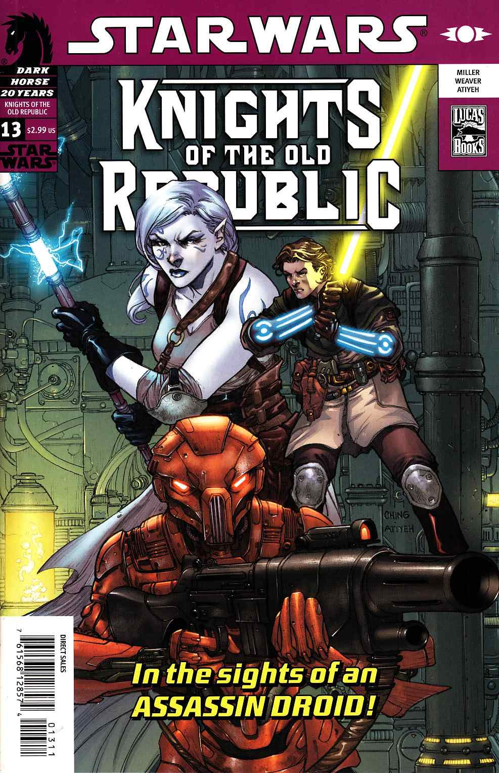 Star Wars Knights Of The Old Republic #13 [Dark Horse Comic]_THUMBNAIL