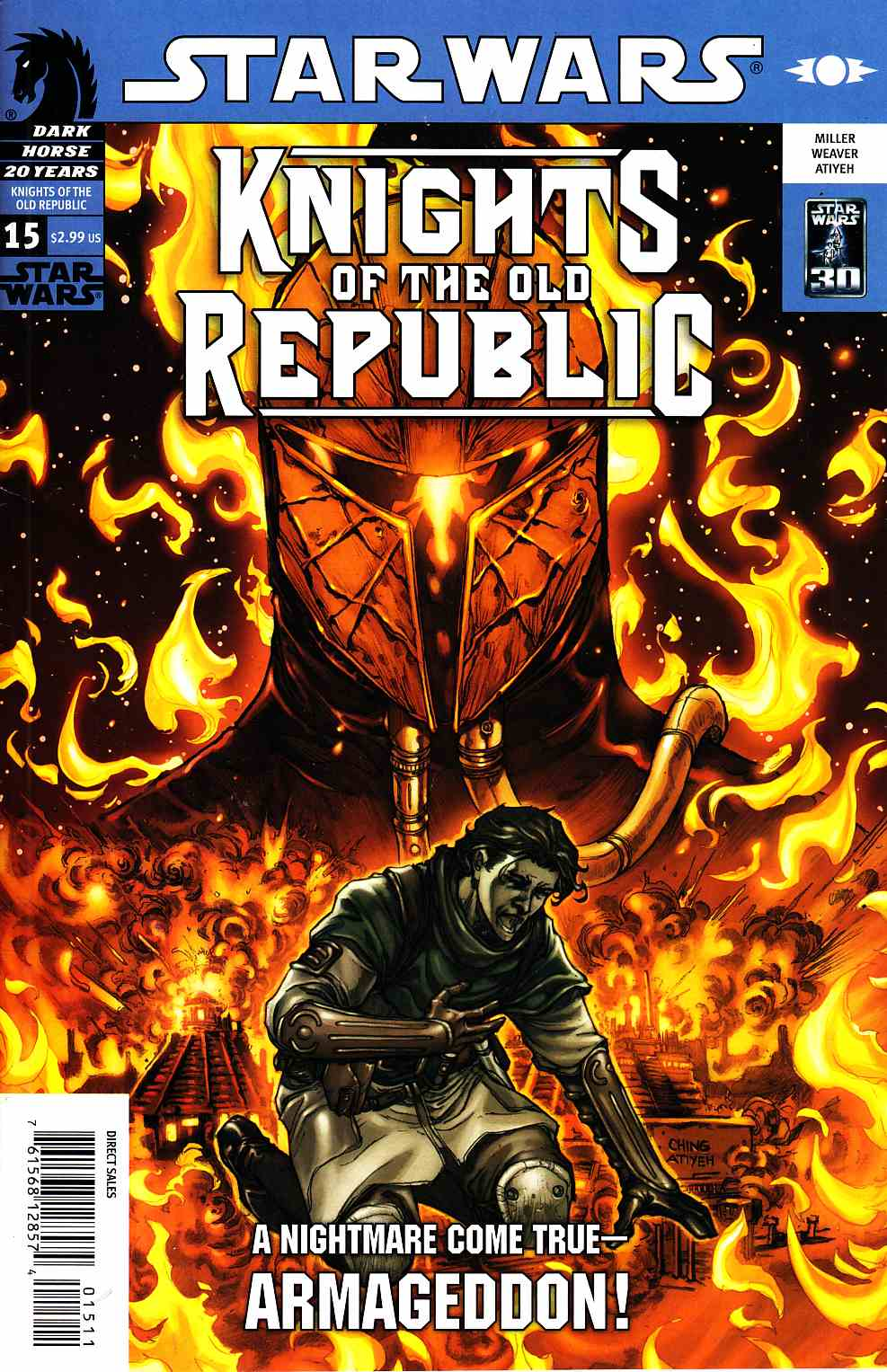 Star Wars Knights Of The Old Republic #15 [Dark Horse Comic]_THUMBNAIL