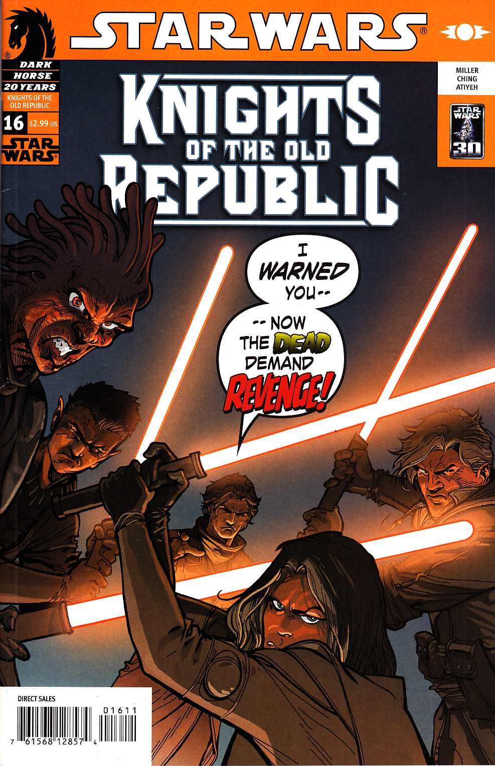 Star Wars Knights Of The Old Republic #16 [Dark Horse Comic]_THUMBNAIL