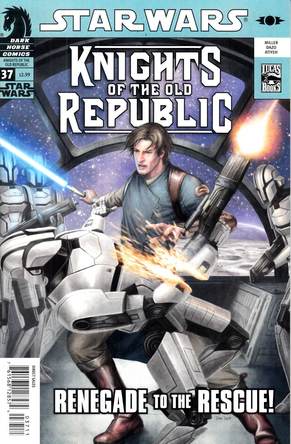 Star Wars Knights of the Old Republic #37 Fine (6.0) [Dark Horse Comic] THUMBNAIL