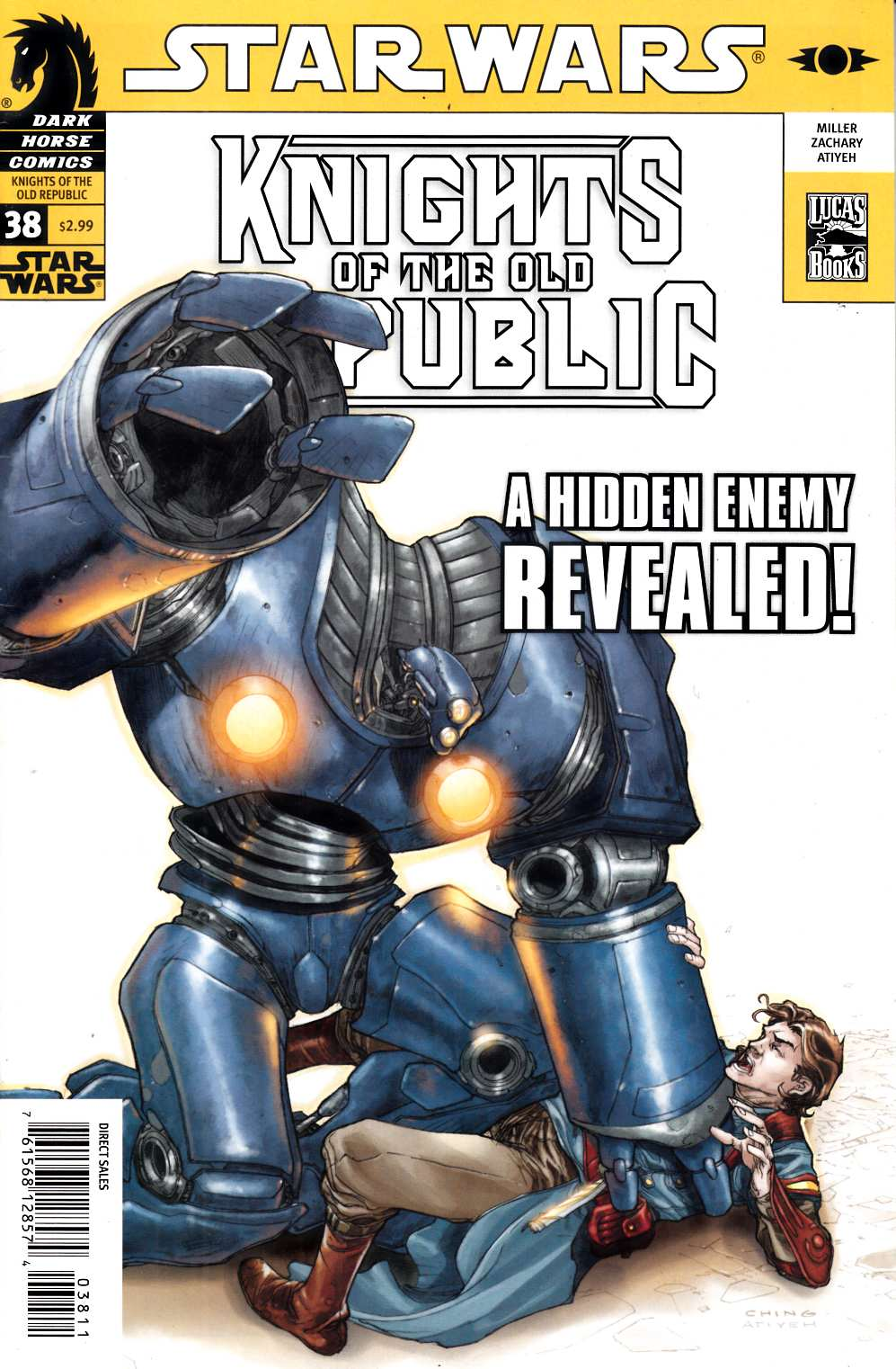 Star Wars Knights of the Old Republic #38 Fine (6.0) [Dark Horse Comic] THUMBNAIL