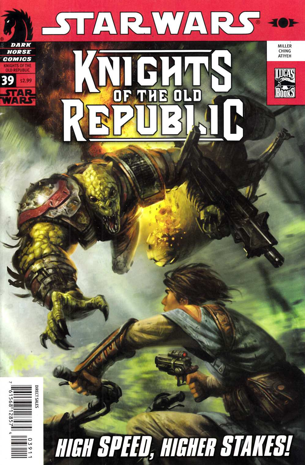 Star Wars Knights of the Old Republic #39 Fine (6.0) [Dark Horse Comic] THUMBNAIL