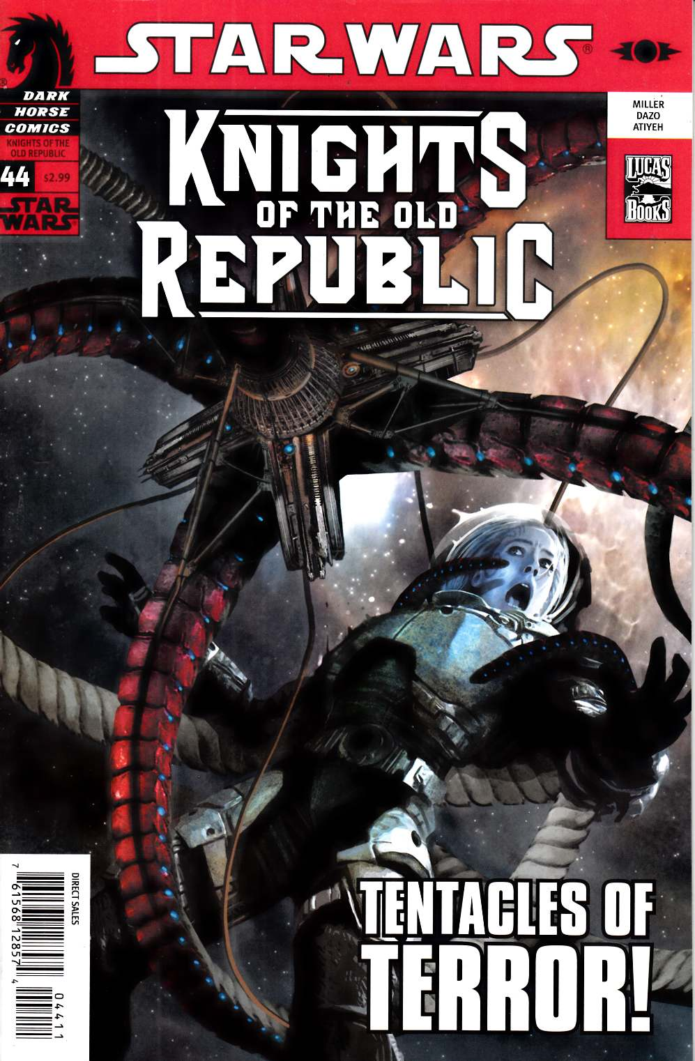 Star Wars Knights of the Old Republic #44 Very Fine (8.0) [Dark Horse Comic] THUMBNAIL