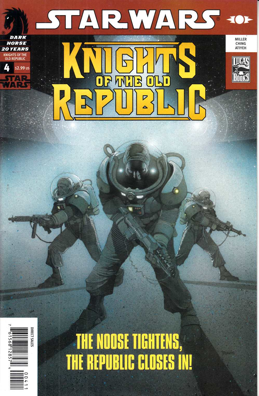 Star Wars Knights of the Old Republic #4 Very Fine (8.0) [Dark Horse Comic] THUMBNAIL