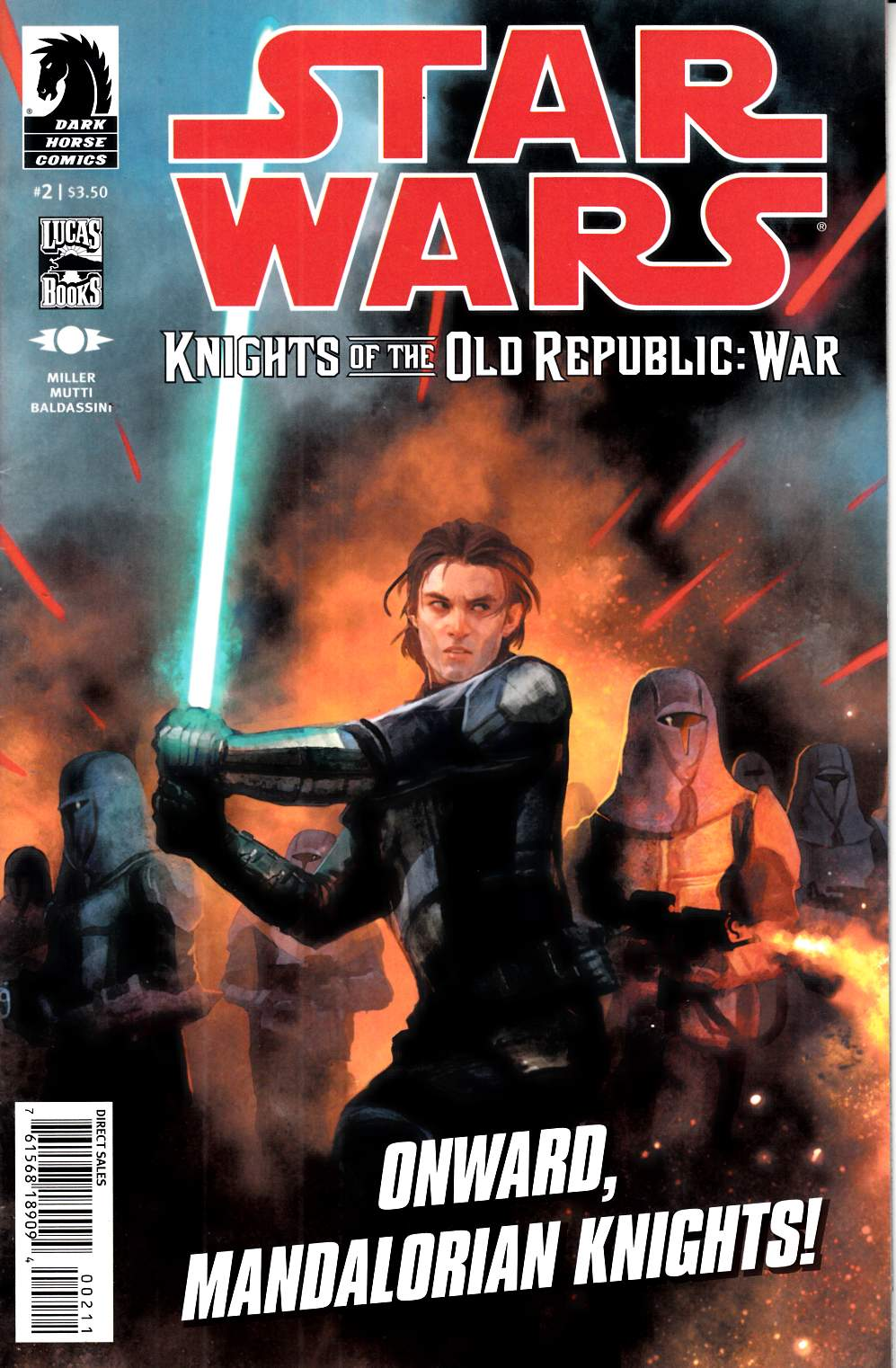 Star Wars Knights of the Old Republic War #2 Fine (6.0) [Dark Horse Comic] THUMBNAIL