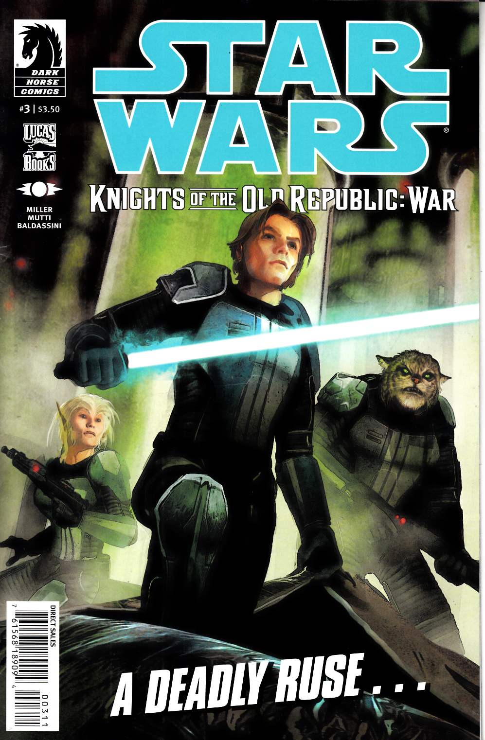 Star Wars Knights of the Old Republic War #3 Very Fine (8.0) [Dark Horse Comic] THUMBNAIL