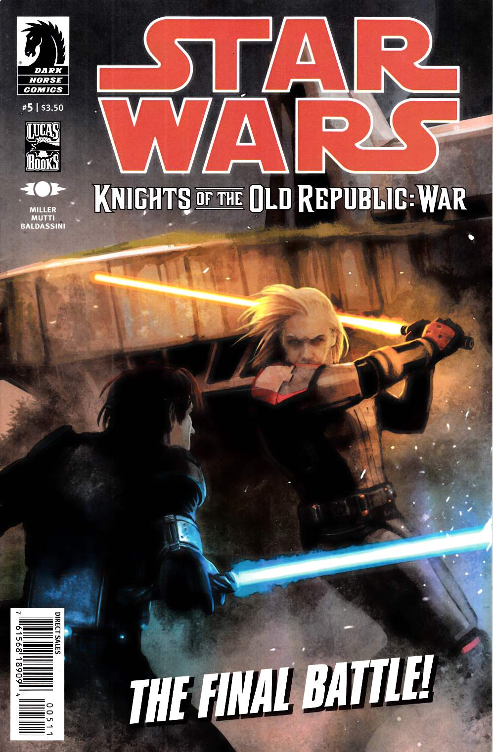 Star Wars Knights of the Old Republic War #5 Very Fine (8.0) [Dark Horse Comic] THUMBNAIL