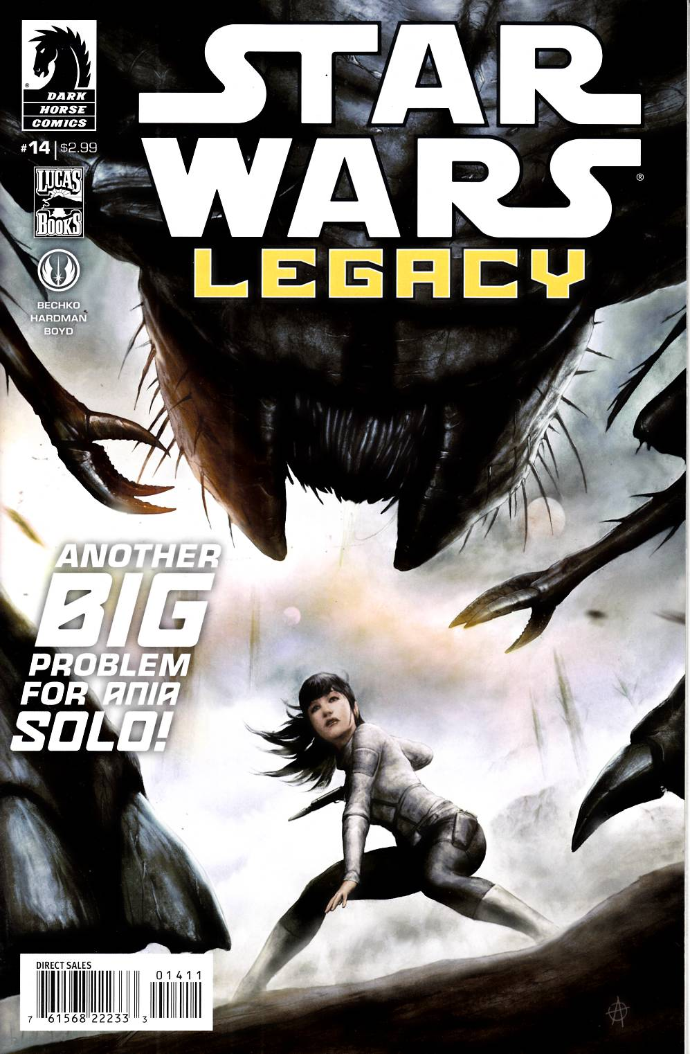 Star Wars Legacy II #14 Near Mint (9.4) [Dark Horse Comic] THUMBNAIL