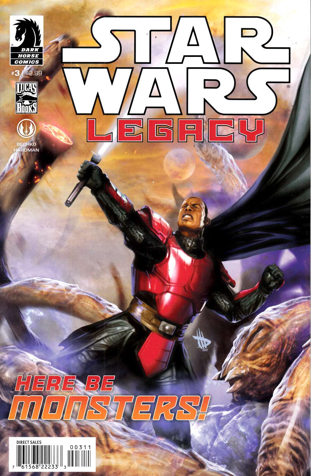 Star Wars Legacy II #3 Very Fine (8.0) [Dark Horse Comic] THUMBNAIL