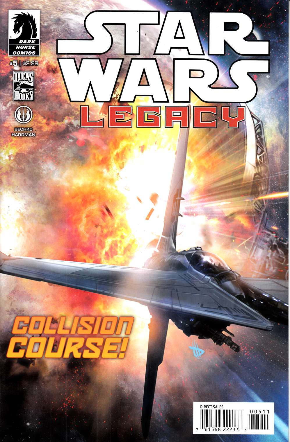 Star Wars Legacy II #5 Very Fine (8.0) [Dark Horse Comic] THUMBNAIL