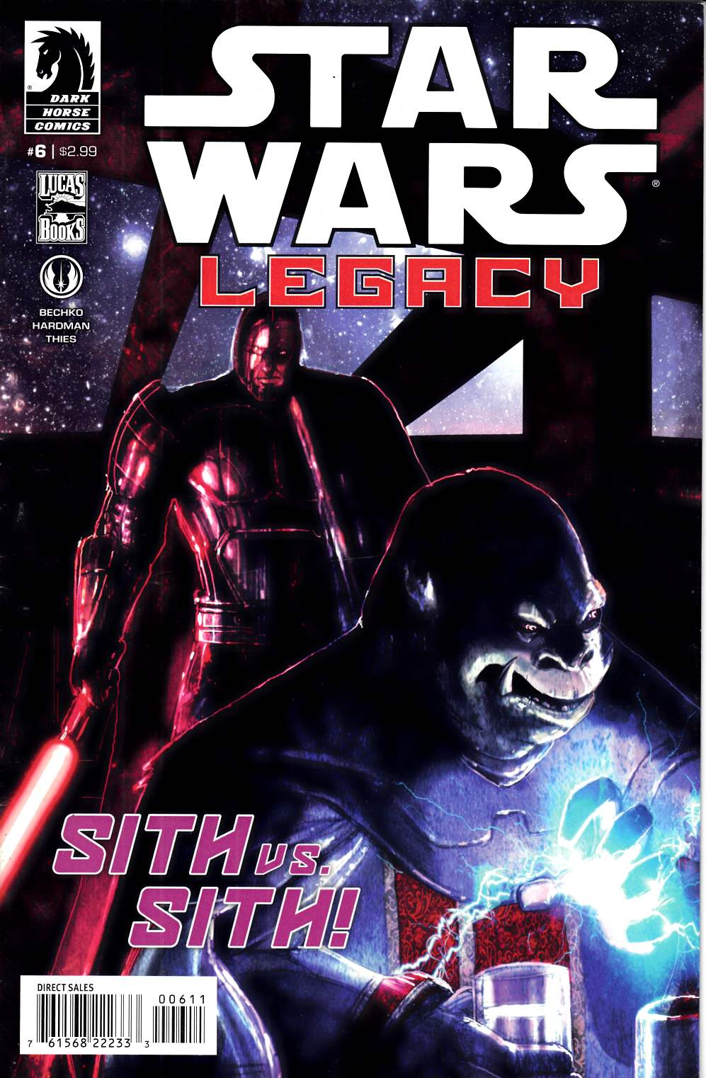 Star Wars Legacy II #6 Very Fine Minus (7.5) [Dark Horse Comic] THUMBNAIL