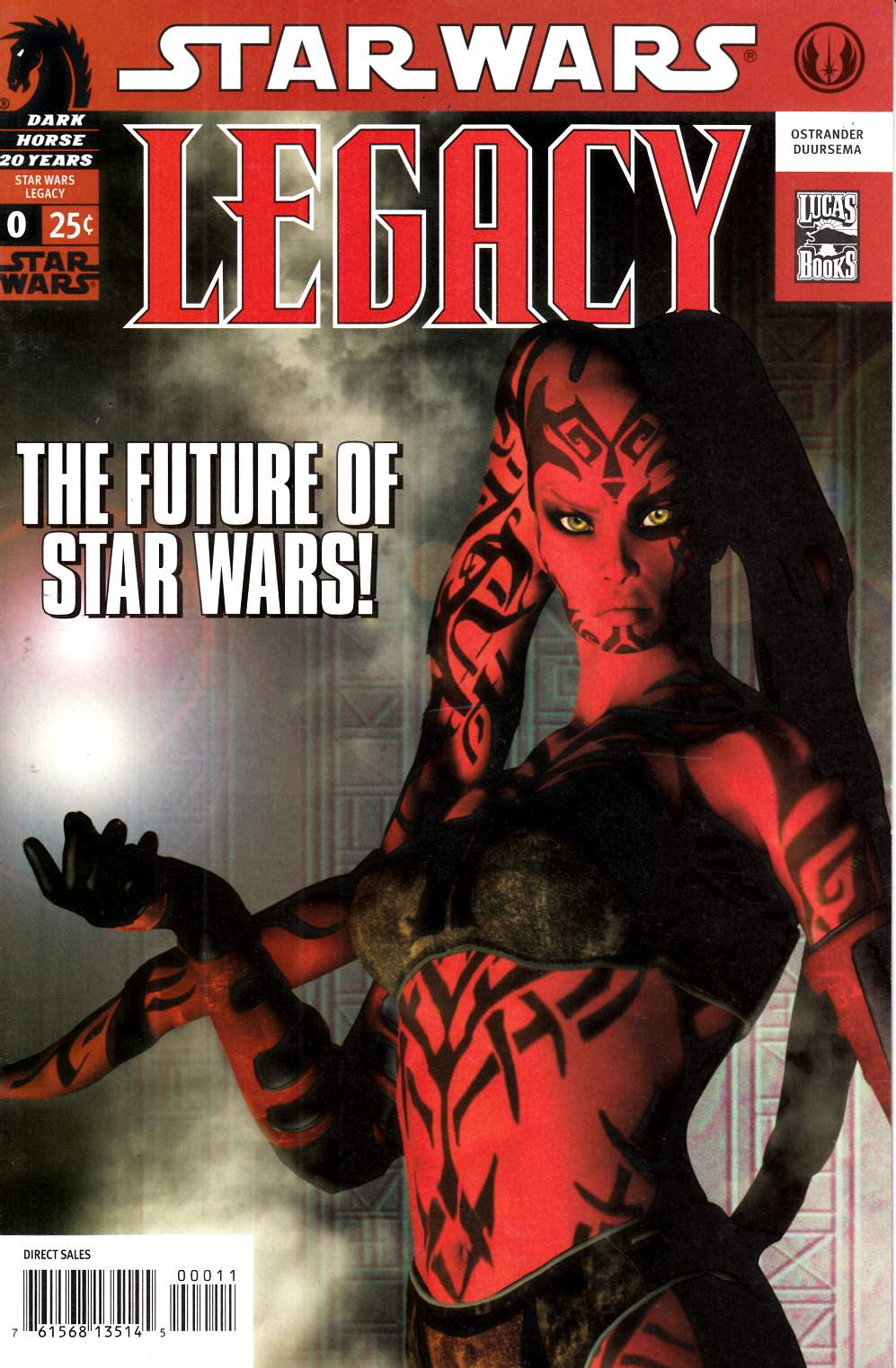 Star Wars Legacy #0 Very Fine (8.0) [Dark Horse Comic] LARGE
