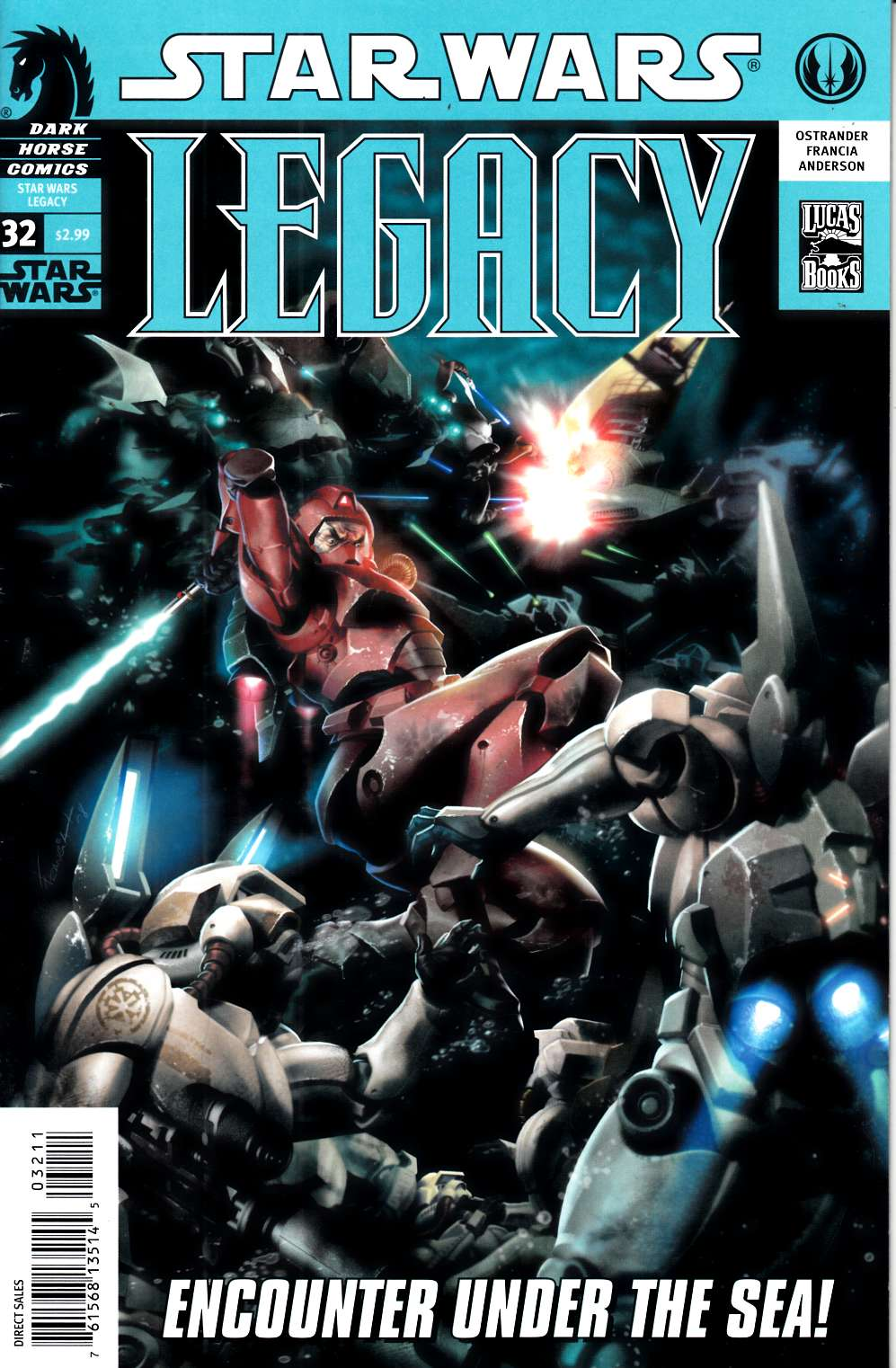 Star Wars Legacy #32 Fine (6.0) [Dark Horse Comic] LARGE