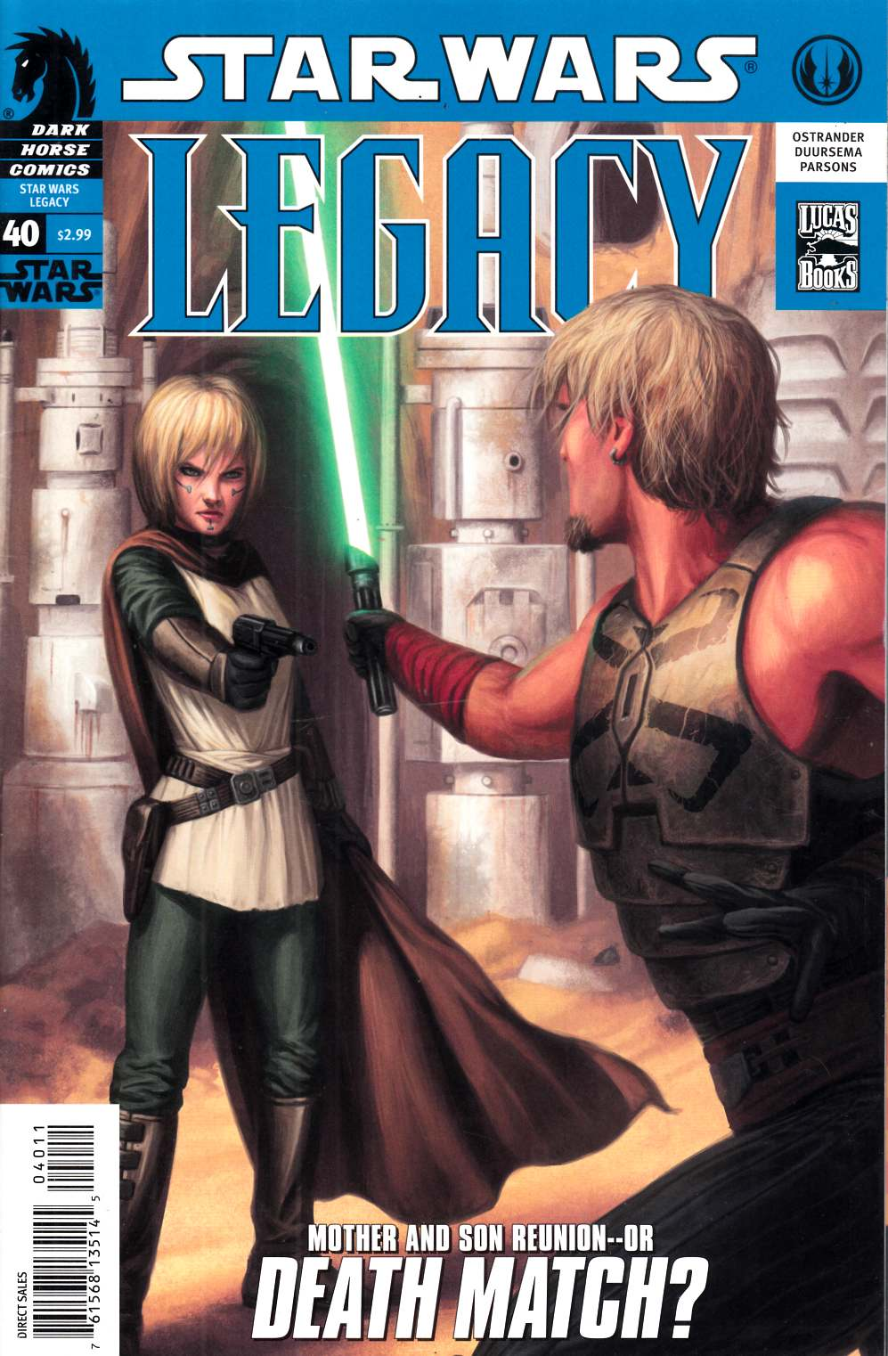 Star Wars Legacy #40 Very Fine (8.0) [Dark Horse Comic] LARGE