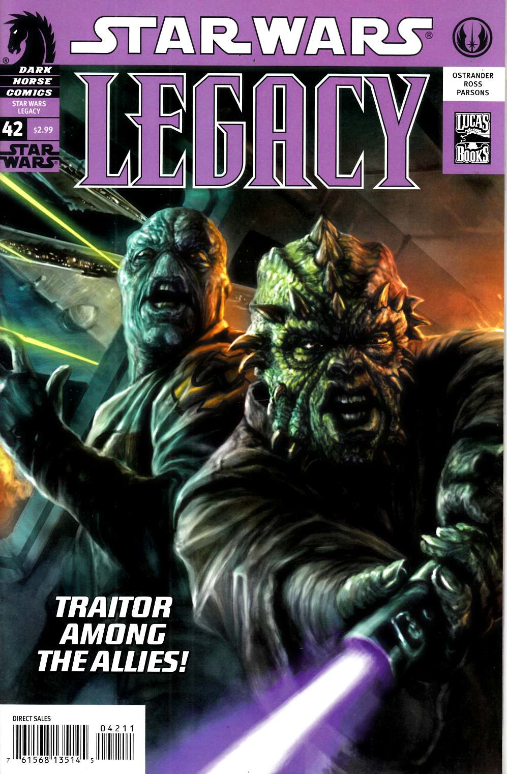 Star Wars Legacy #42 Very Fine (8.0) [Dark Horse Comic] LARGE