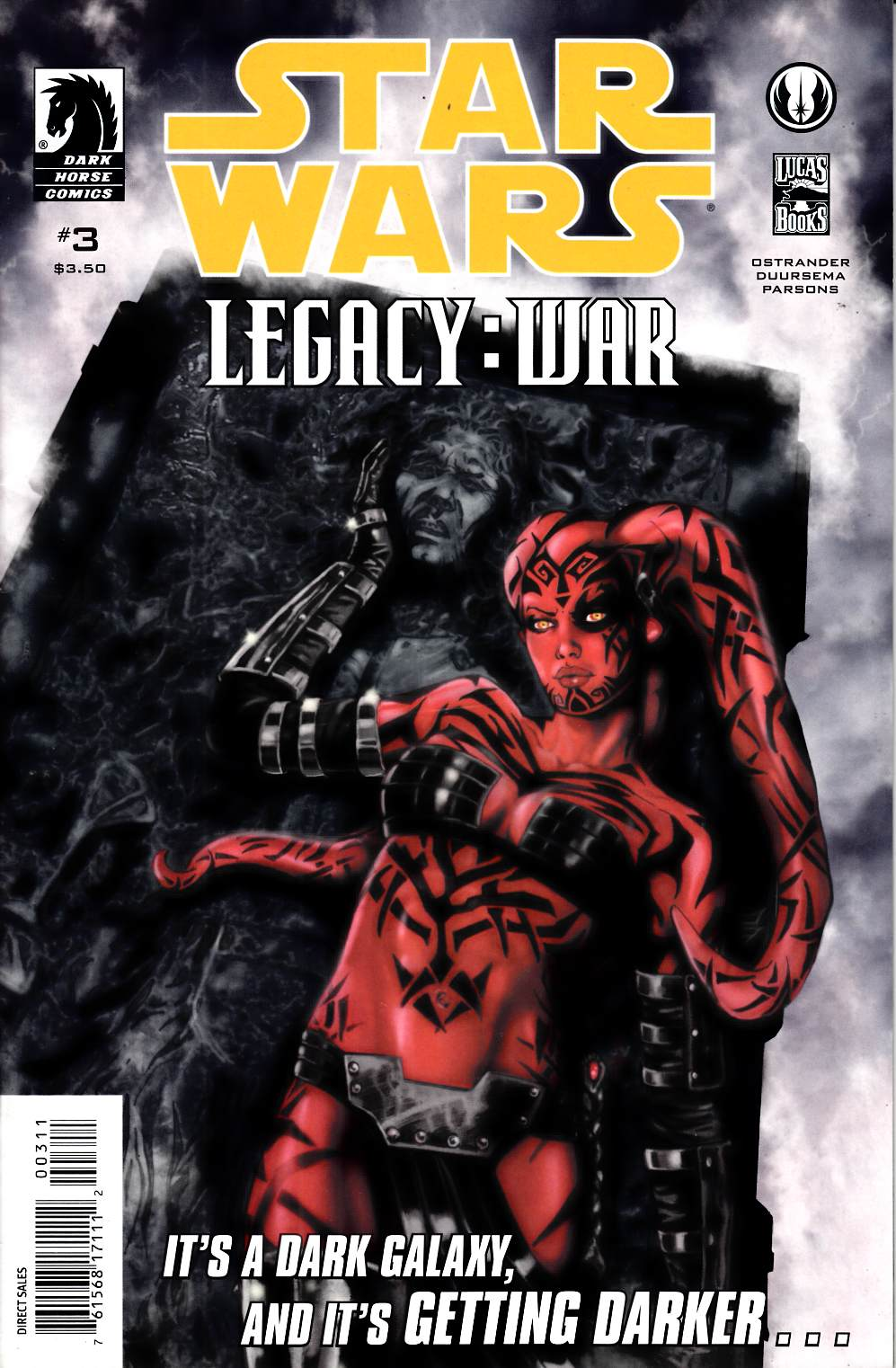 Star Wars Legacy War #3 Very Fine (8.0) [Dark Horse Comic] THUMBNAIL