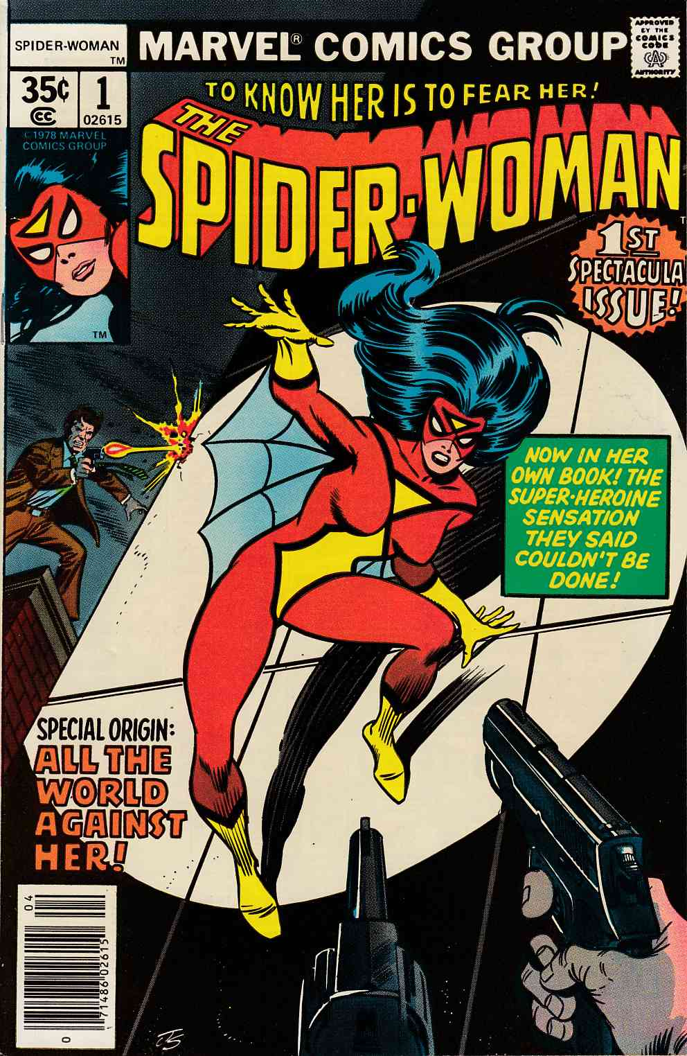 Spider-Woman #1 Near Mint (9.4) [Marvel Comic] LARGE