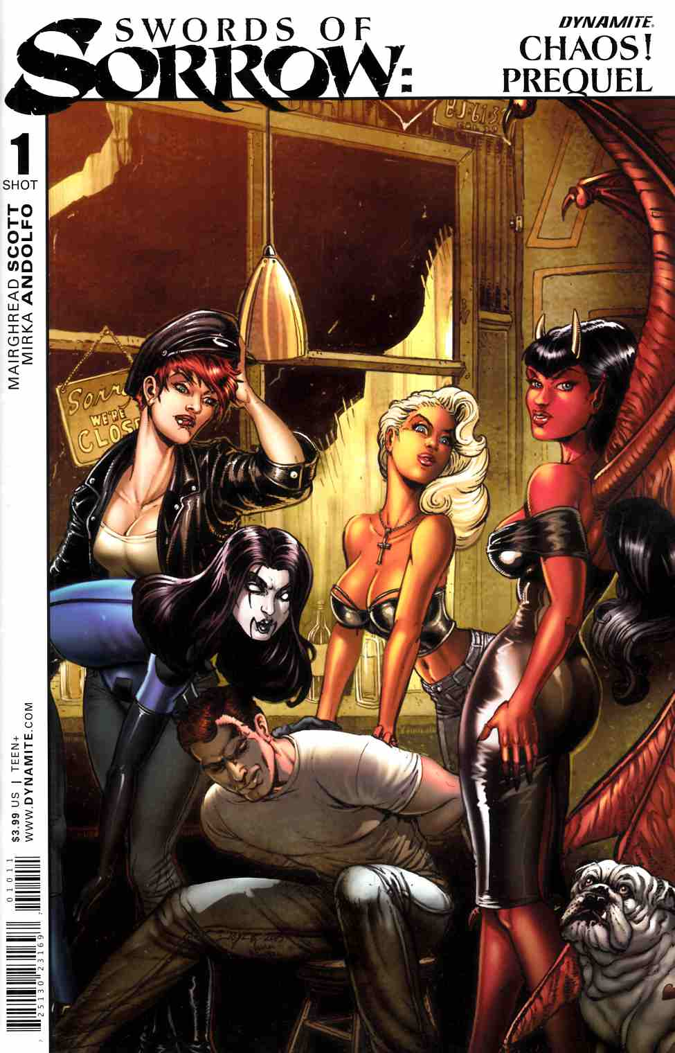Swords Of Sorrow Chaos Special (One Shot) [Dynamite Comic] THUMBNAIL