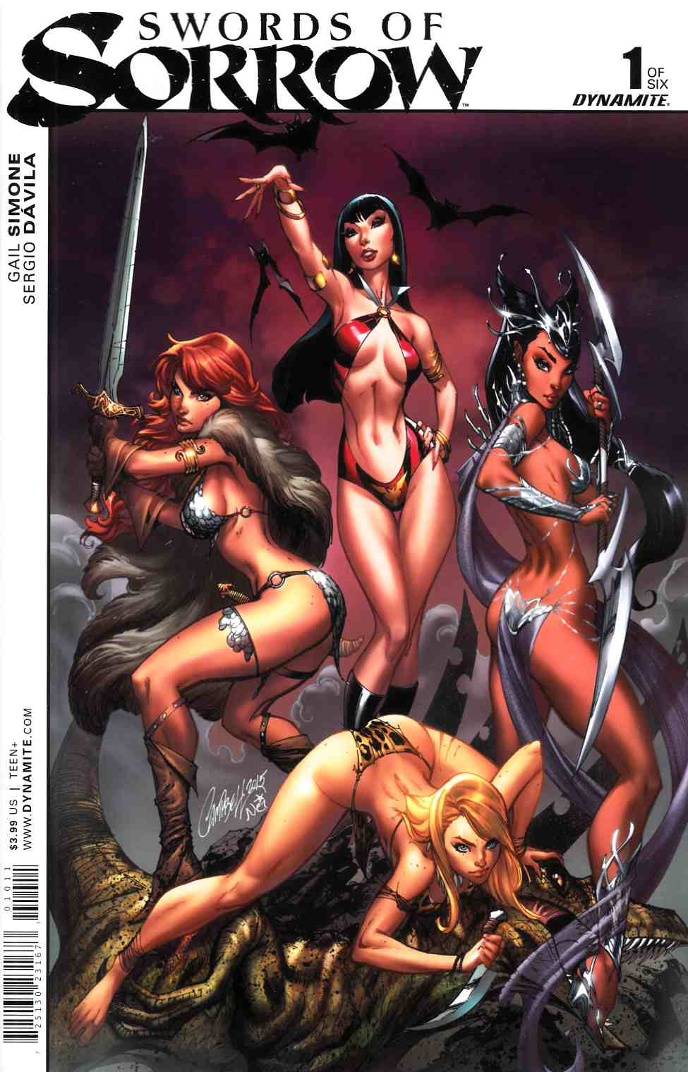 Swords Of Sorrow #1 Cover A- Campbell [Dynamite Comic]_THUMBNAIL