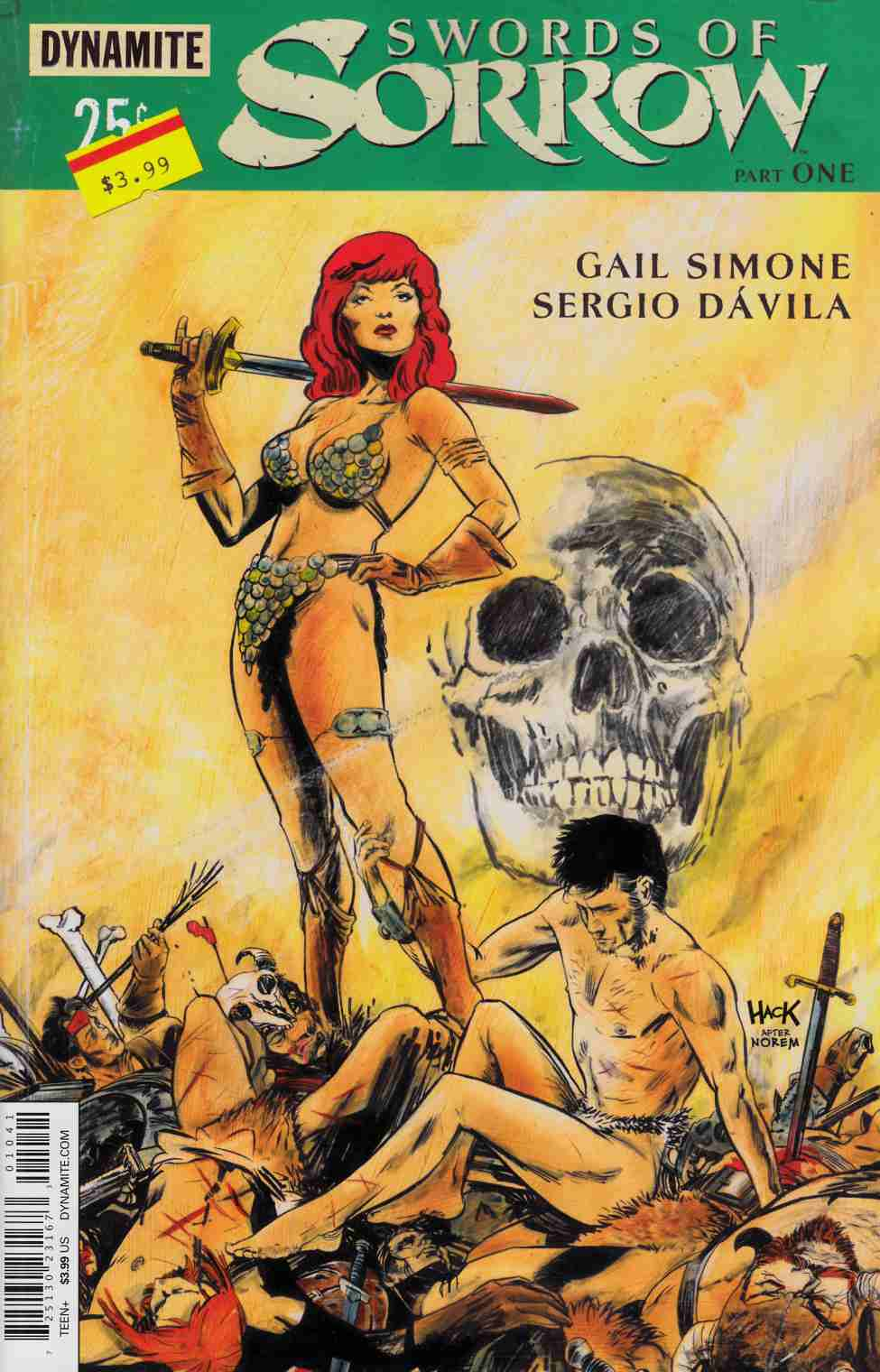Swords Of Sorrow #1 Cover D- Hack Subscription [Dynamite Comic] THUMBNAIL