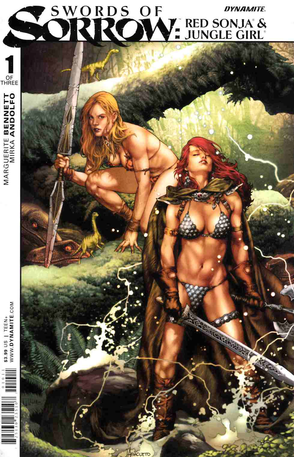 Swords of Sorrow Red Sonja and Jungle Girl #1 [Dynamite Comic] THUMBNAIL