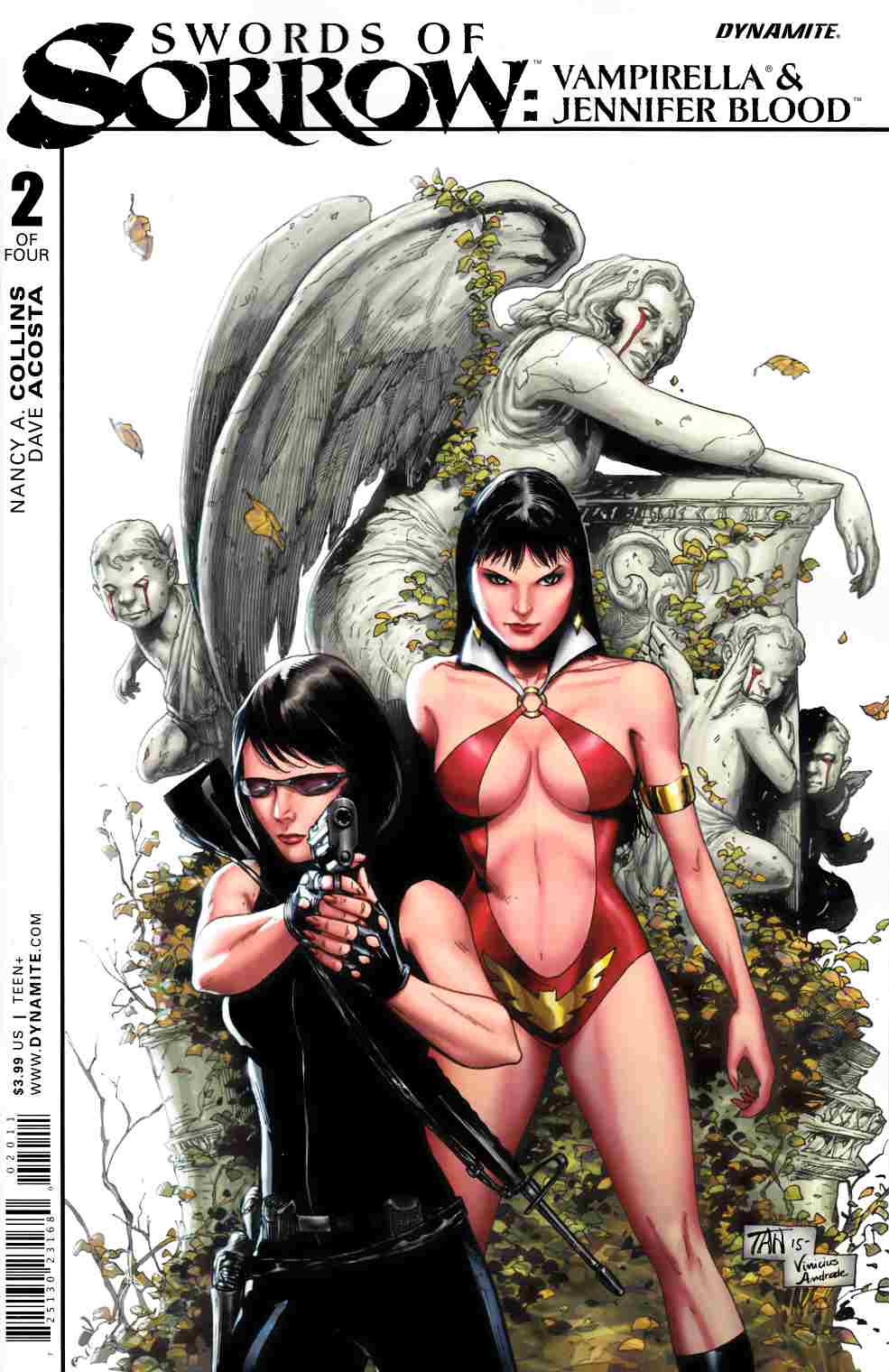 Swords of Sorrow Vampirella Jennifer Blood #2 [Dynamite Comic]